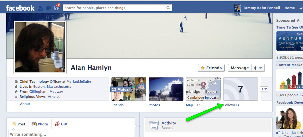 how to know who has seen my facebook profile